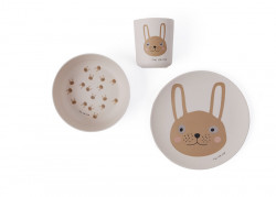 OYOY Set Tacamuri Bamboo Rabbit