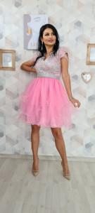 Rochie Erika roz