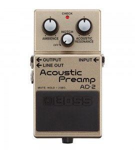Imagens Boss AD-2 Acoustic Preamp