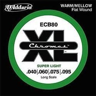 DAddario ECB 80 Chrome