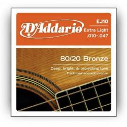 DAddario EJ-10 Bronze