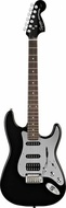 Fender Squier Black & Chrome Standard Strato HSS