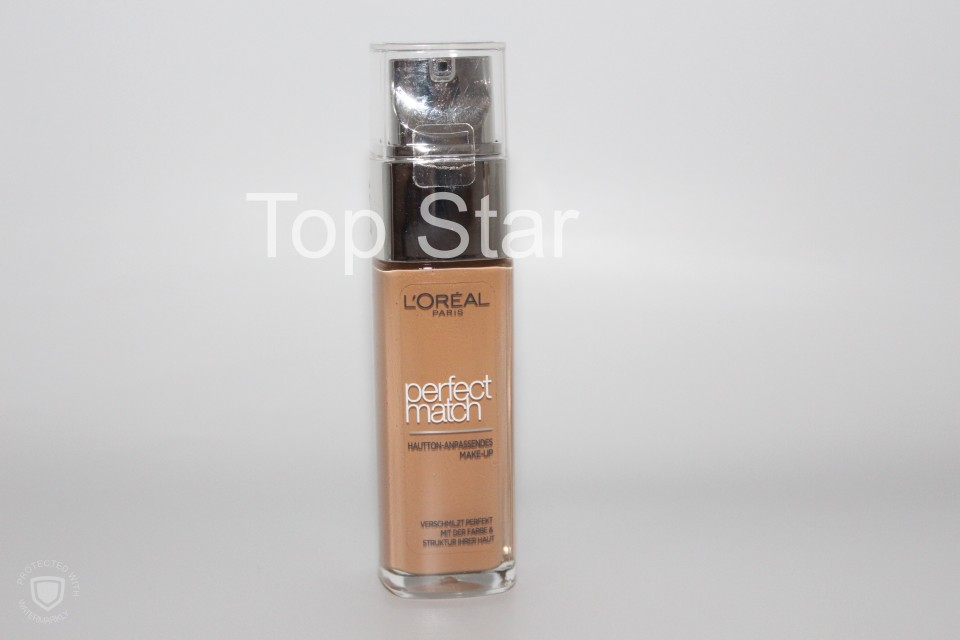 Fond de ten cu luminozitate Loreal Perfect Match Nuanta 6N Honey