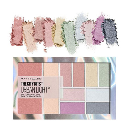 Paleta multifunctionala farduri de ochi si obraz Maybelline The City Urban Lights