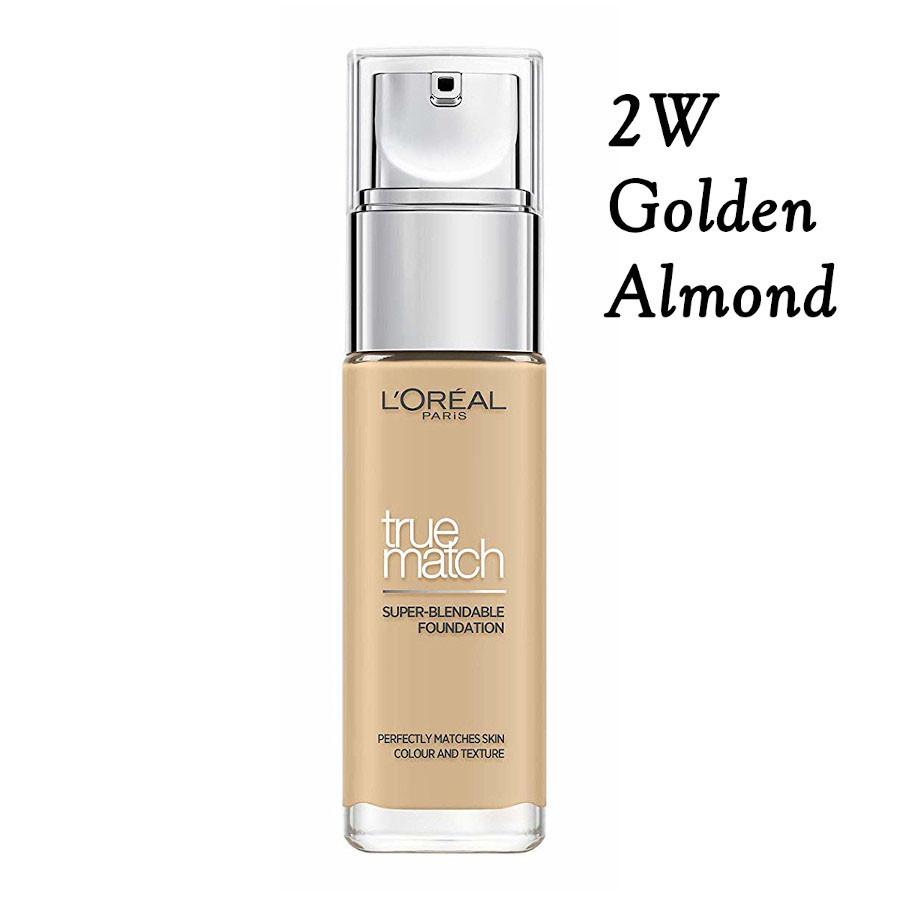 Fond de ten Loreal True Match Nuanta 2D/2W Golden Almond imagine produs
