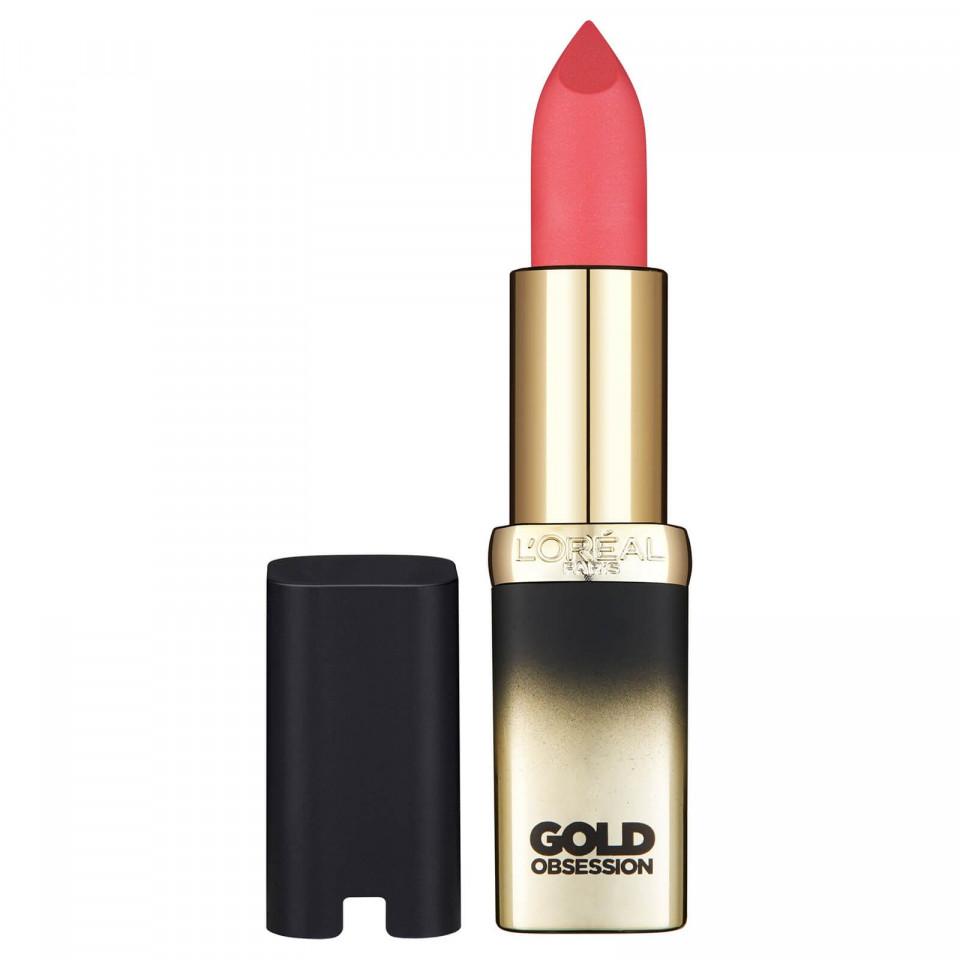 Ruj de buze Loreal Color Riche Pink Gold Obsession