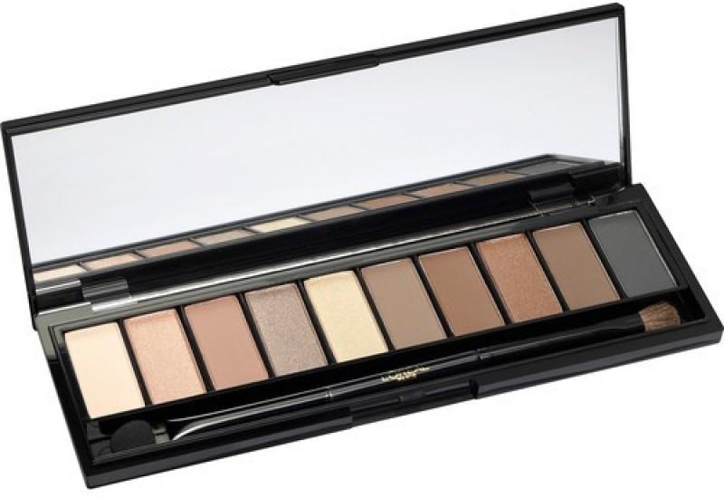 Trusa machiaj 10 nuante fard Loreal La Palette Nude Varianta Beige