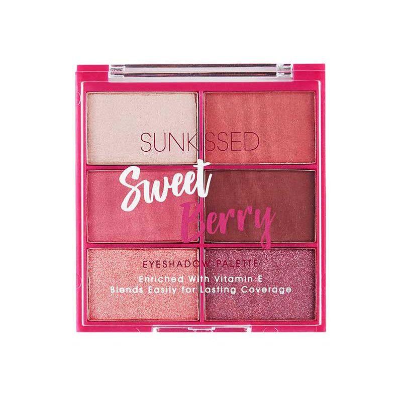 Paleta farduri de ochi Sunkissed Sweet Berry Eyeshadow Palette imagine produs