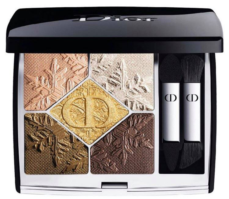 Paleta farduri de pleoape Dior 5 Couleurs Couture 549 Golden Snow