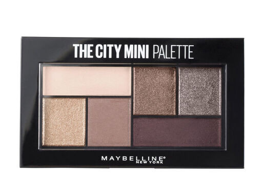Paleta farduri de pleoape Maybelline The City Chill Brunch Neutrals