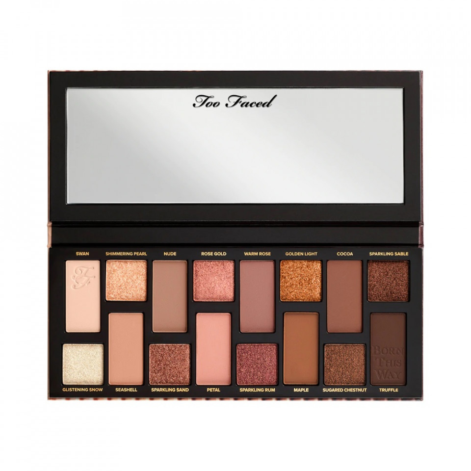 Paleta farduri pleoape Too Faced Born This Way The Natural Nudes Palette