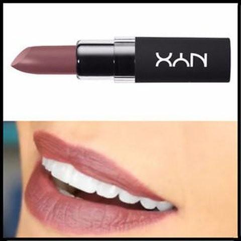 Ruj de buze mat NYX Velvet Matte Lipstick 08 Duchess imagine produs