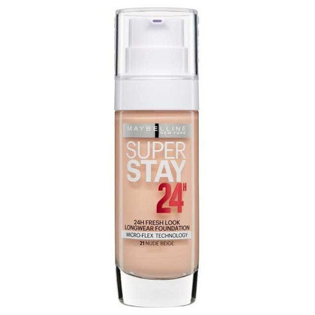 Fond de ten rezistent Maybelline Superstay 24 H, 21 Nude Beige imagine produs