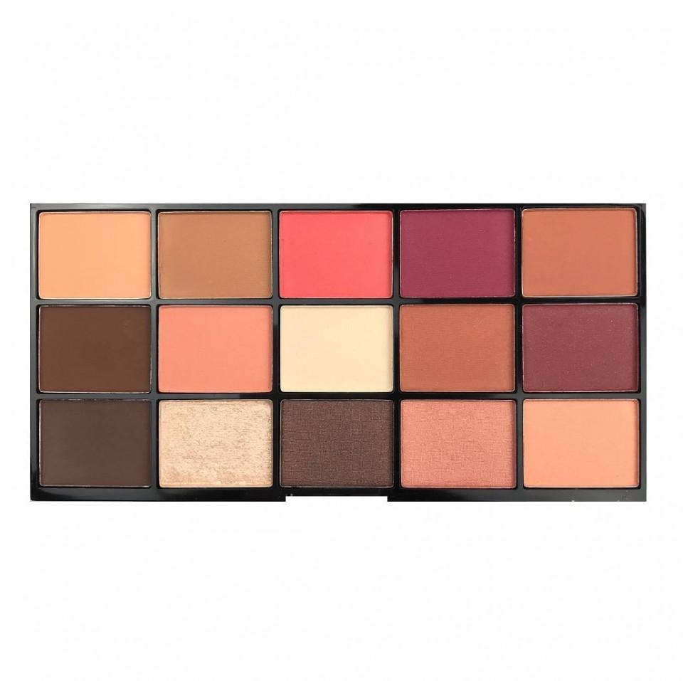 Paleta farduri de pleoape Technic Sierra Sunset , 15 culori imagine produs