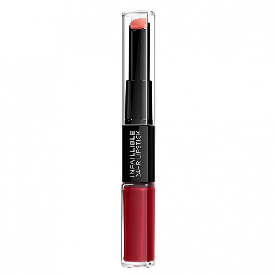 Ruj lichid rezistent la transfer L'Oreal Paris Infaillible 24H 700 Boundless Burgundy,