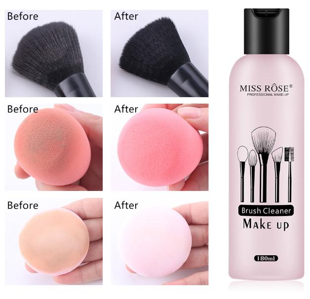 Solutie curatare pensule machiaj Miss Rose Brush Cleaner Make Up