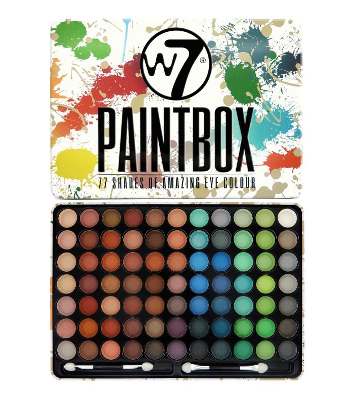 Paleta farduri de ochi W7 Paintbox 77 culori imagine produs