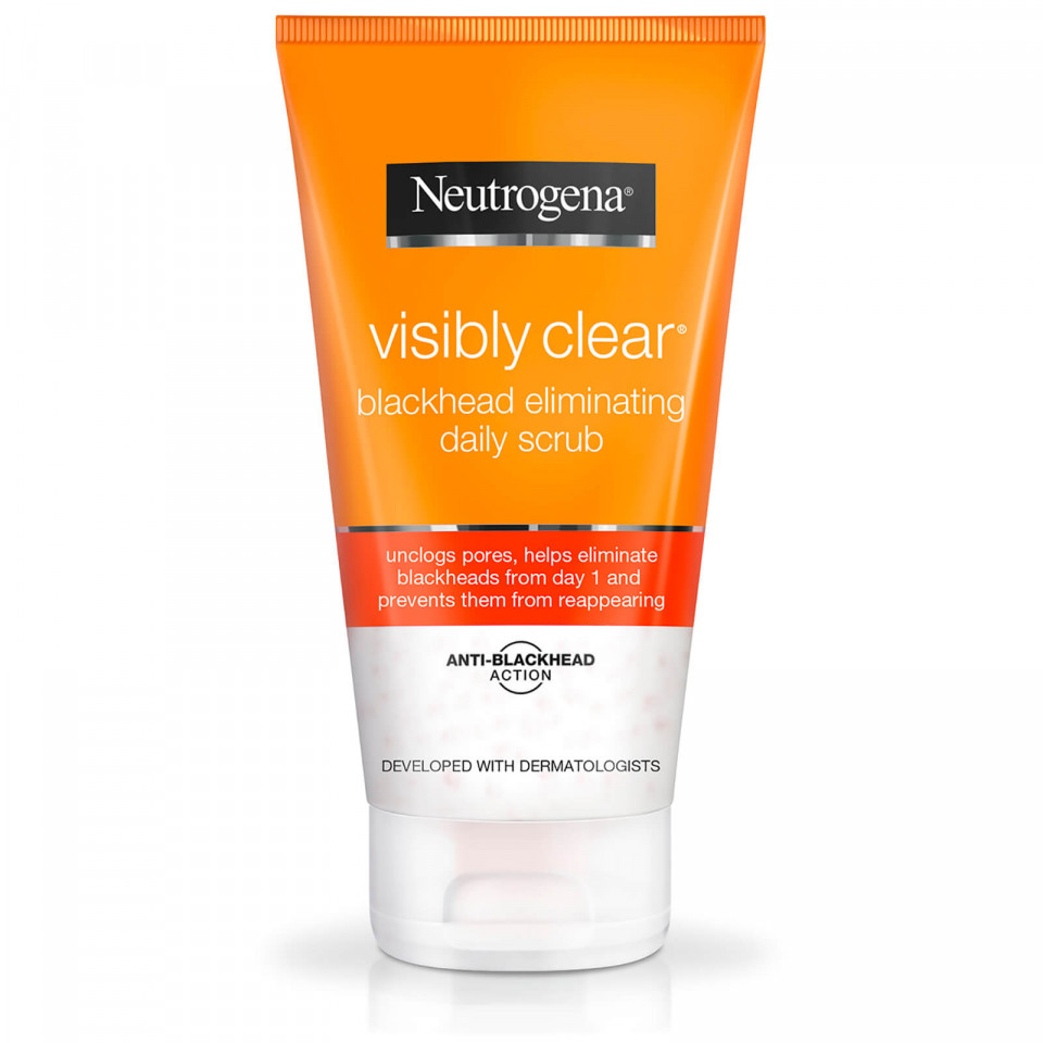 Peeling impotriva punctelor negre Neutrogena Visibly Clear Blackhead Daily Scrub imagine produs