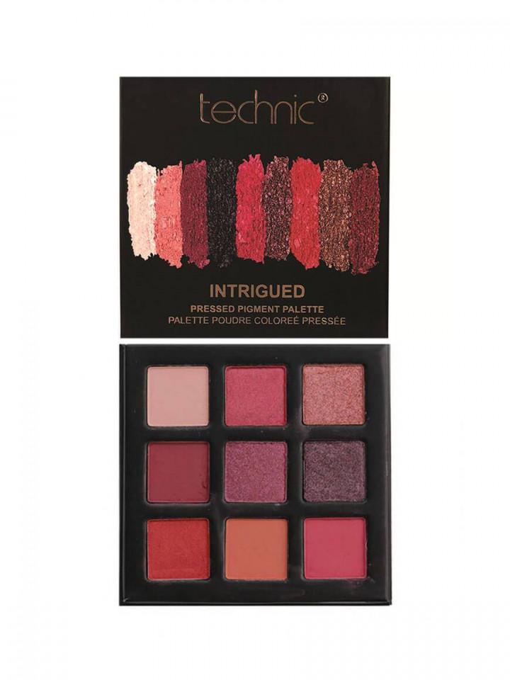 Paleta farduri de ochi Technic Pressed Pigment Intrigued imagine produs
