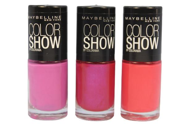 Set 3 Lac de unghii Maybelline Color Show Colorama 04 imagine produs