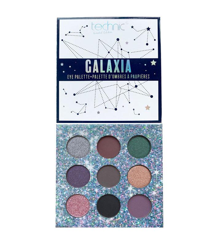 Trusa fard de ochi Technic Galaxia Eye Palette Limited Edition imagine produs
