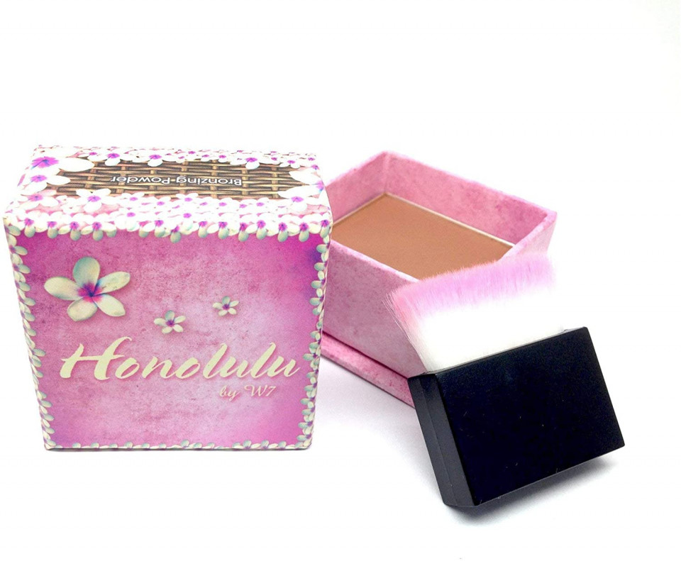 Pudra bronzanta W7 Honolulu Bronzing Powder