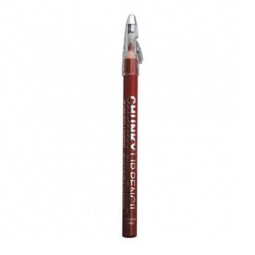 Creion de buze Technic Chunky cu ascutitoare, 11 Cherry Pie