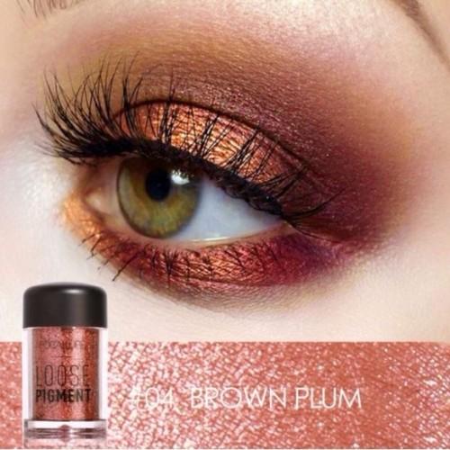 Pigment fard de ochi Focallure Eyes Loose Pigment 04 Brown Plum