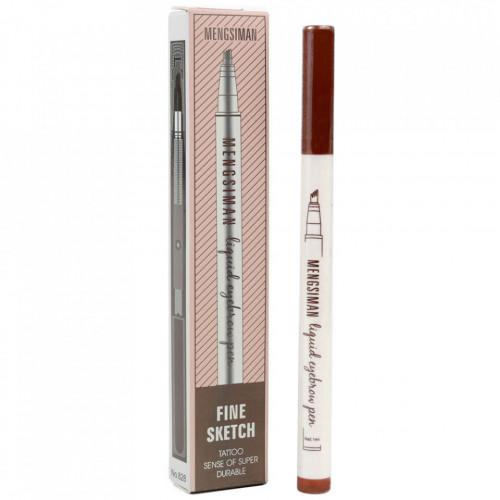 Creion sprancene efect Microblading Nuanta Brown