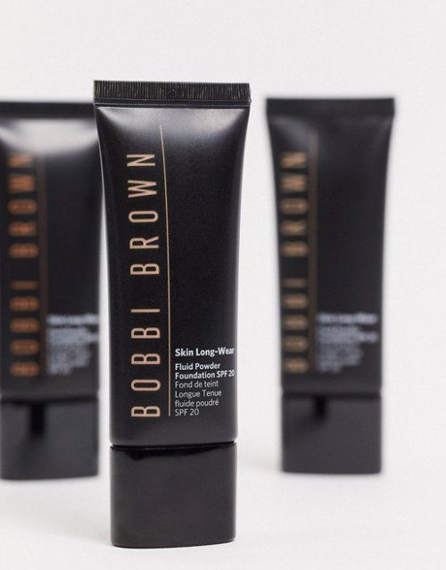 Fond de ten Bobbi Brown Skin Long-Wear Fuid , W-046 Warm Beige