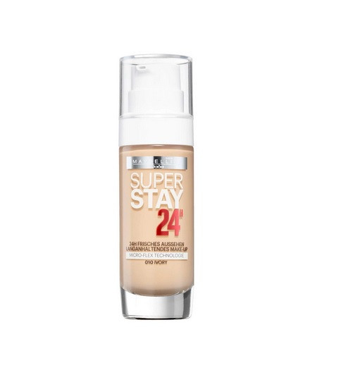 Fond de ten rezistent Maybelline Superstay 24 H, 10 Ivory