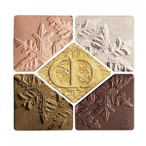 Paleta farduri de pleoape Dior 5 Couleurs Couture 549 Golden Snow