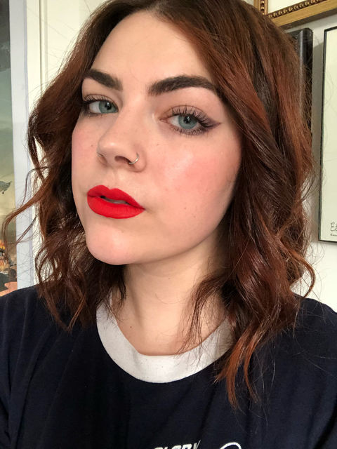 Ruj de buze rezistent la transfer Sephora Cream Lip Stain 78 Chili Pepper