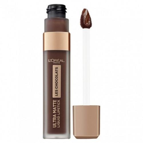 Ruj de buze rezistent, Loreal Ultra Matte Les Chocolats 856 70% Yum