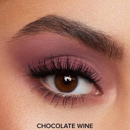 Fard de ochi lichid mat Too Faced Matte Eye Shadow Melted Chocolate Wine