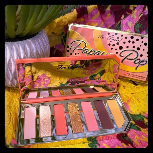 Paleta fard de ochi Too Faced Papaya Pop Eye Shadow Palette