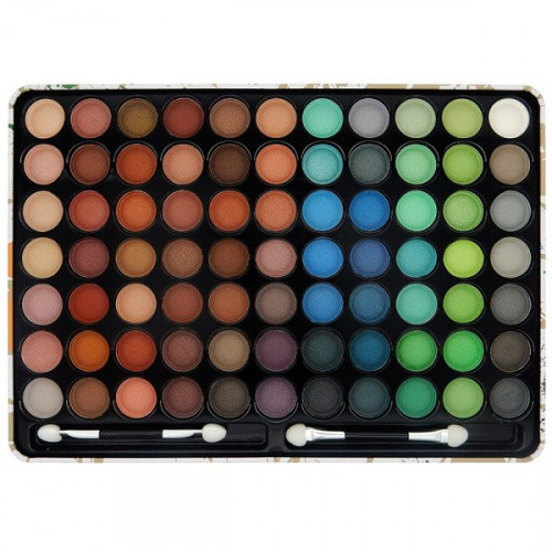 Paleta farduri de ochi W7 Paintbox 77 culori