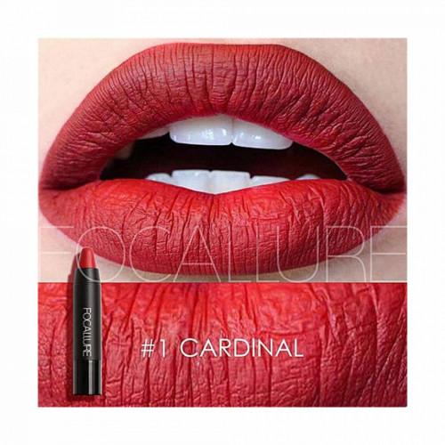 Ruj de buze mat Focallure Lip Crayon 01 Cardinal