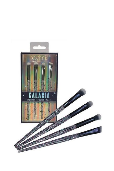 Set pensule machiaj ochi Technic Galaxia Eye Brush Set Limited Edition