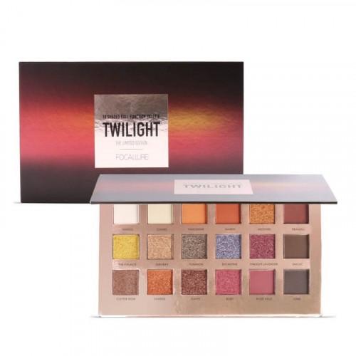 Trusa 18 farduri de pleoape Focallure Twilight Collection