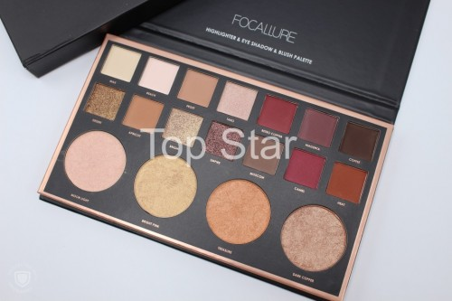 Trusa farduri + iluminator Focallure Highlighter + Eyeshadow + Blush