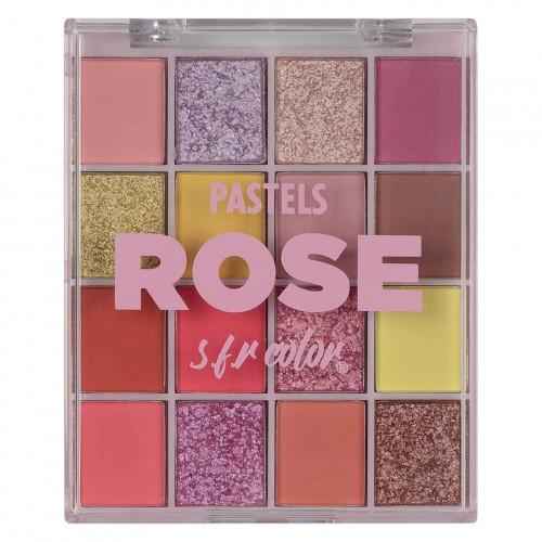Trusa machiaj SFR Pastels, # 01 Rose