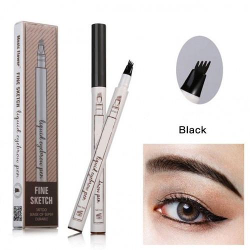 Creion sprancene efect Microblading Nuanta Black