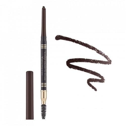 Creion sprancene Max Factor Brow Slanted Pencil, 05 Black Brown