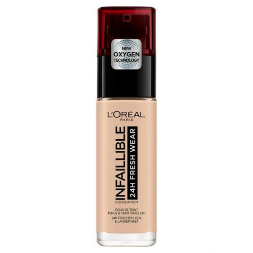 Fond de ten rezistent LOREAL Infaillible 24H Fresh Wear 25 Rose Ivory