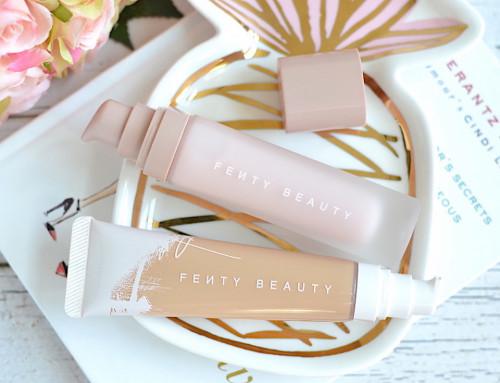 Pachet Fenty Beauty : Fond de ten + Baza de machiaj Primer pentru fata