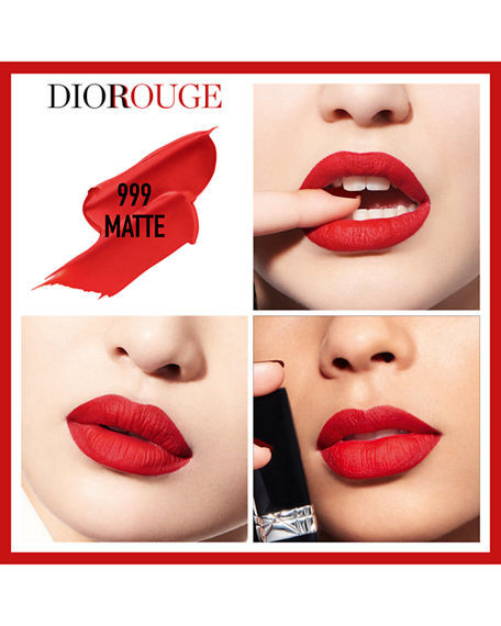 Ruj de buze Dior Rouge Dior 999 Matte