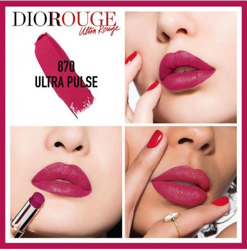 Ruj Dior Ultra Rouge, 870 Pulse