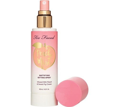 Spray de fixare Too Faced Peach Mist Mattifying Setting Spray 120ml