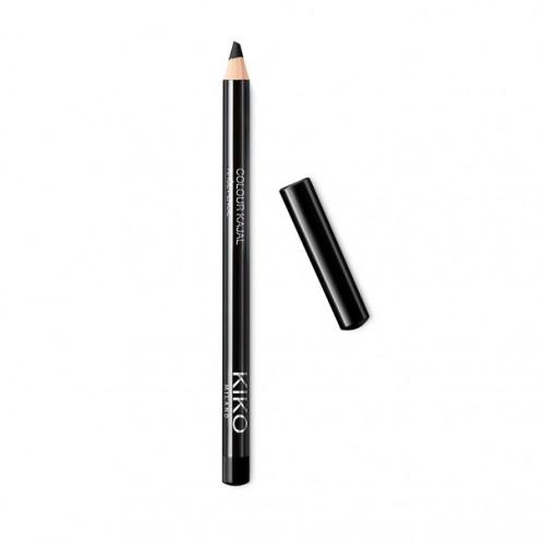 Creion de ochi dermatograf Kiko Colour Kajal Khol Pencil, Negru
